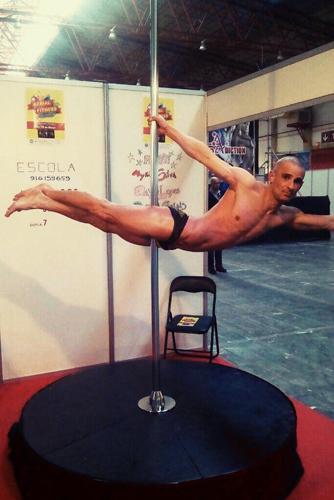 Fabiano Sousa - Pole Dance - Erot Love - Eros Porto 2017