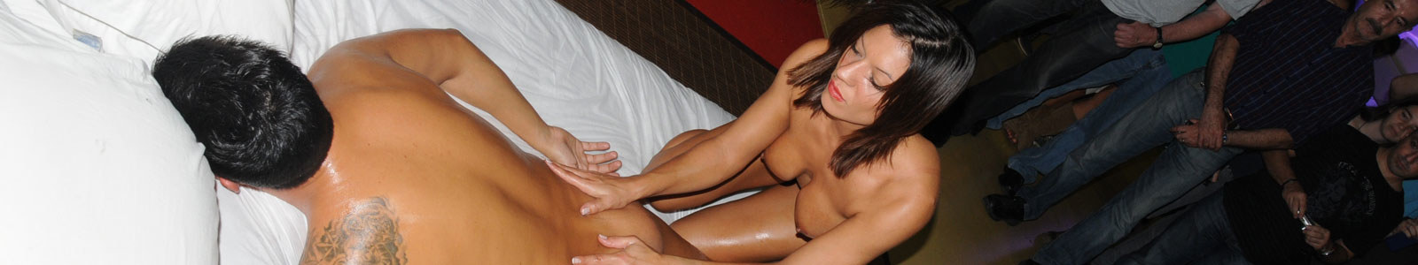 Massagens eróticas Lame. She's